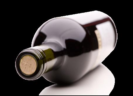 5-Minuten-Bild-Vorlage: Weinflasche